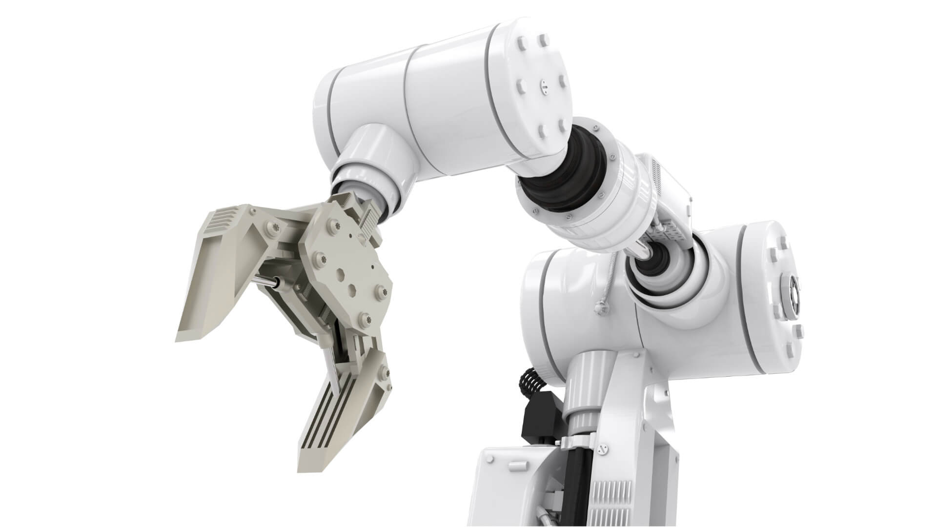 Hi Tech Robot arm using Transcyko speed reducers for automation